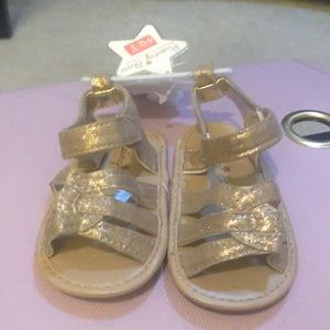 Gold Infant Sandal Size 3